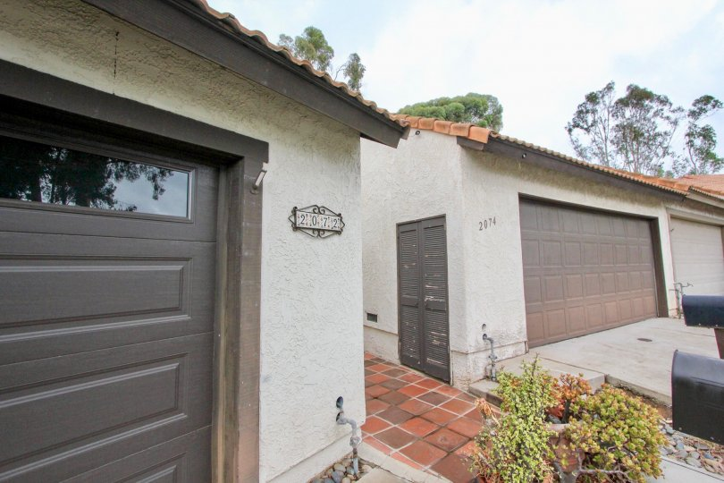 A two story beautiful apartment With fully gated and garage and little yard in a nice Community