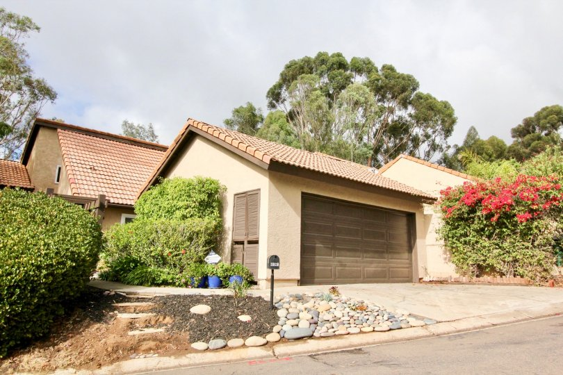 Well maintained community Buena Woods in Carlsbad, California.
