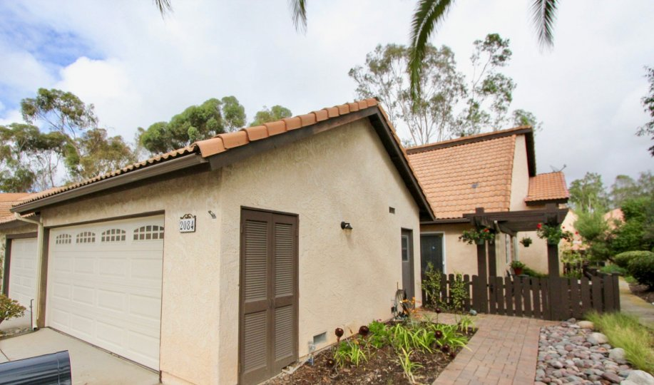 the buena woods is a wooden house of the carlsbad city in ca