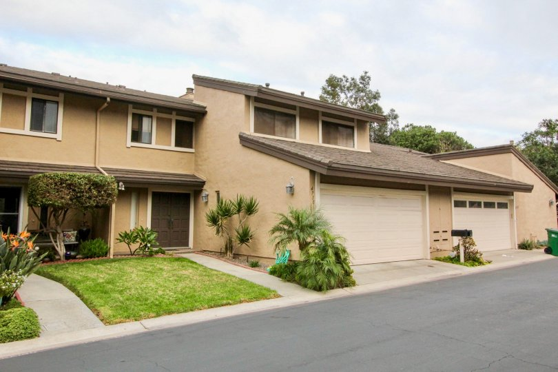 A two-storey townhouse unit in Carlsbad Palisades neighborhood.