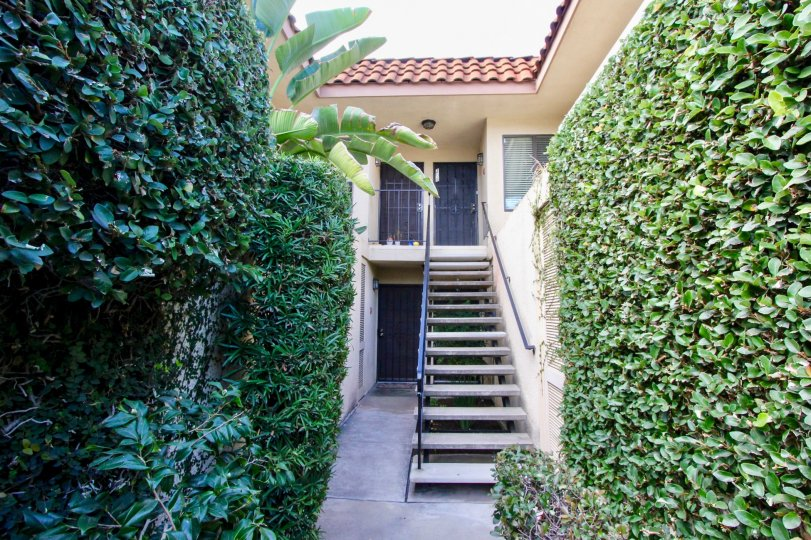 THE CASA DEL REY IS A GREENISH HOUSE OF THE CARLSBAD IN CA