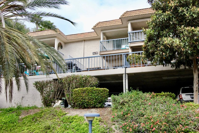 picture focusing mainly balcony of Casa Grande, located at Carlsbad, California