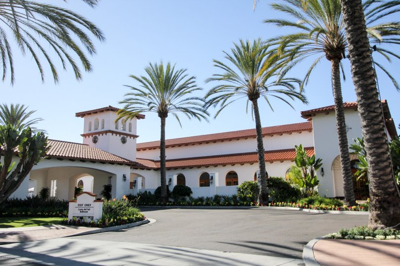 big bunglow view of Cortez Building at Carlsbad located in california