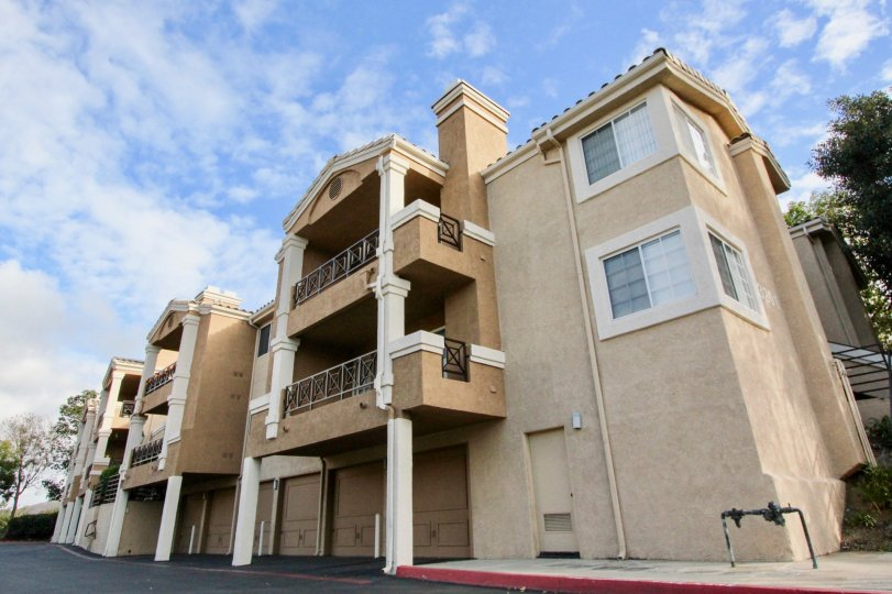 Two story apartments with garage in La Costa Alta in Carlsbad, CA