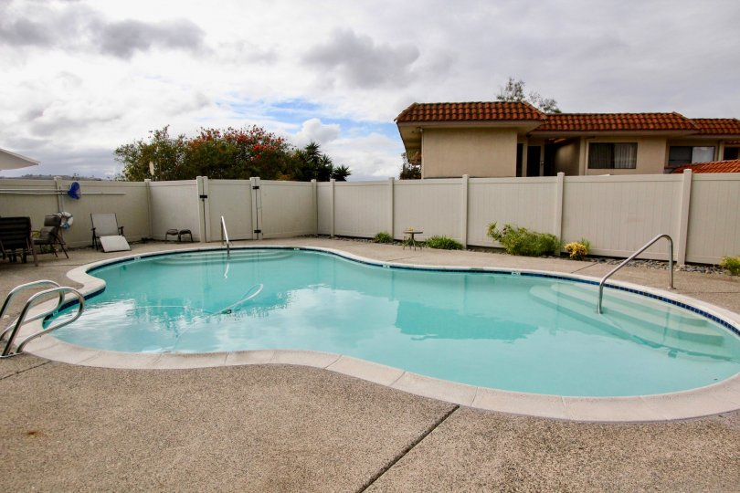 the costa manor is a swmming pool of the carlsbad city in california