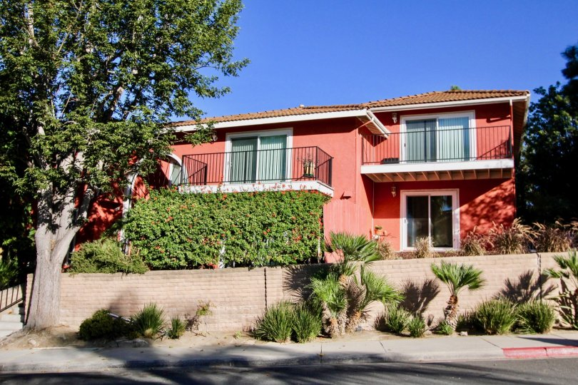 THE LA COSTA SOUTH IS A RED COLOUR PALACE OF CARLSBAD IN CA