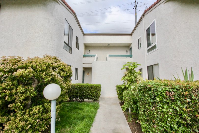 Multiunit apartment complex in La Costa View, of Carlsbad California