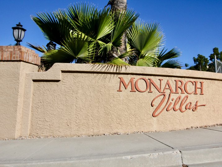 the monarch villas is a sky house of the carlsbad city in california