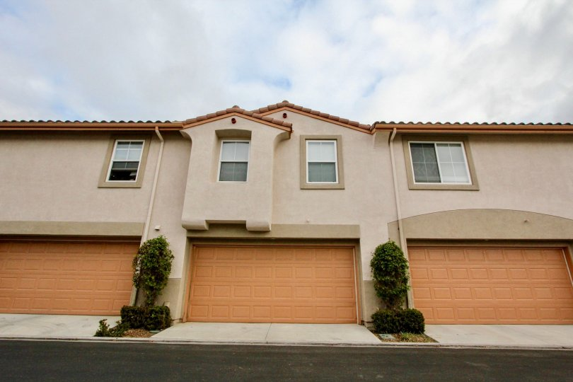 well maintained spanish tiled roof townhome with garage in Serrano area Carlsbad California