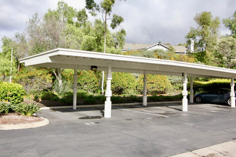 The Crest a community with carports in Carlsbad, California.