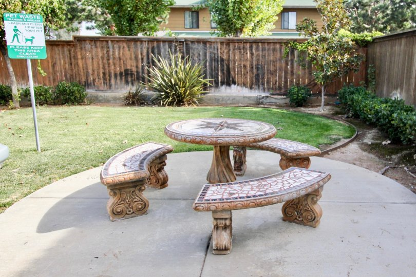 A Beautiful Sitout space with Green lawn in Ada Terrace of Chula Vista area