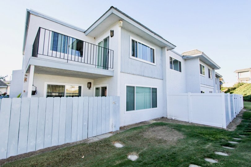 Large upper balcony in the Autumn Hills Community in Chula Vista.