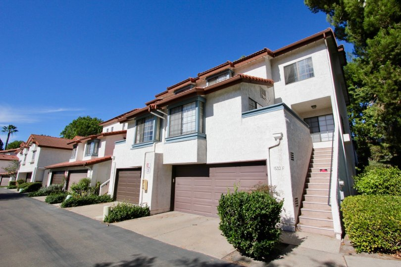 Attached garages available at Charter Point in Chula Vista, CA