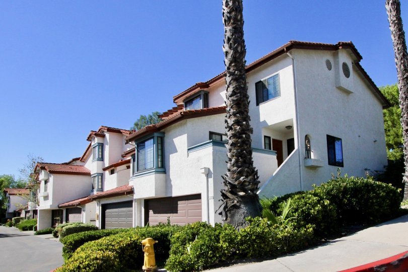 a sunny day at the Charter Point neighborhood in Chula Vista California