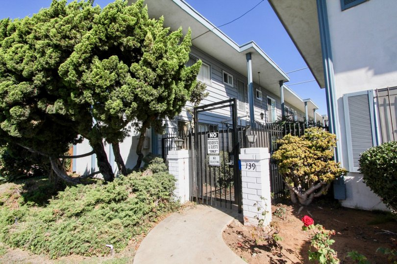 Feel secure with a gated entrance to the Chula Vista Townhomes in sunny Chula Vista, CA