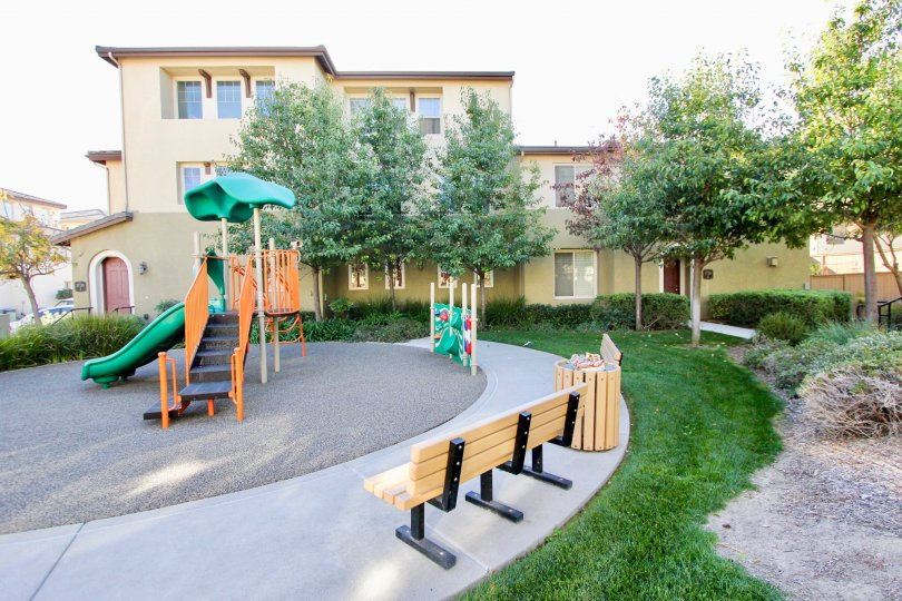 Colorful play area for the kids to enjoy at Clover.