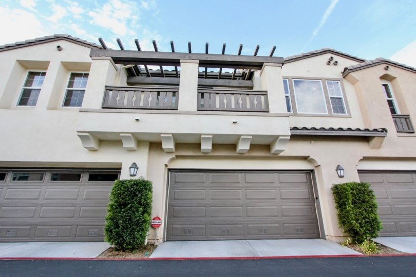 Enjoy beautiful balcony's and private garage parking at Cortina in sunny Chula Vista California