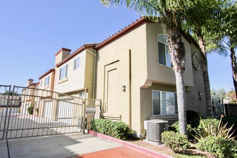 feel safe and secure in the gated community of Fourth Park Place in Chula Vista California