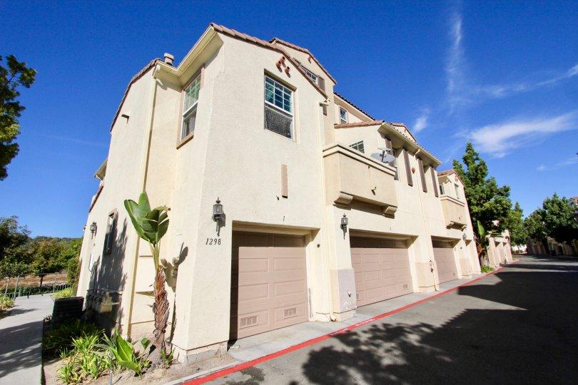 A new apartment complex in the community of Hearthstone Village located in Chula Vista, California