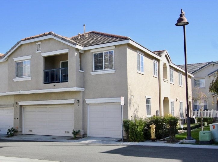 A lovely view of the Monet homes in Chula Vista, CA