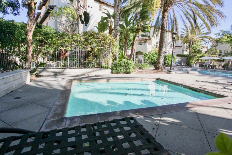 A small lap pool in the clubhouse of the Saguaro community.