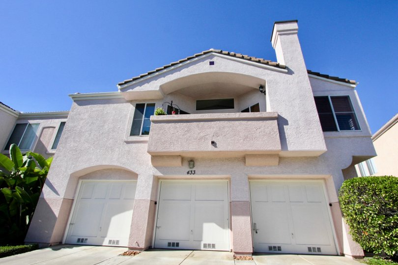 Single car garages available at Sanibelle in Chula Vista, CA