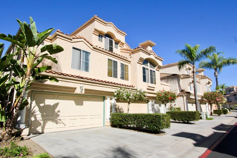 A large house on a sunny day in Serena Condominiums, Chula Vista, CA