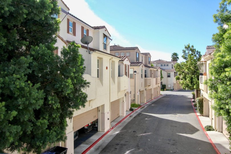 Row houses constructed of Silver Sage in Chula Vista