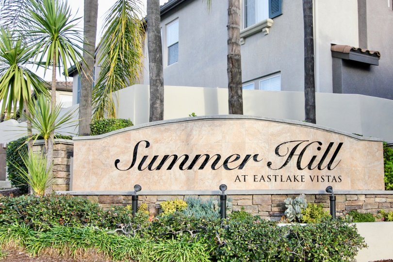 Marvellous Independent House with Trees and lawn showing Beautiful Board in summer Hill area of Chula Vista
