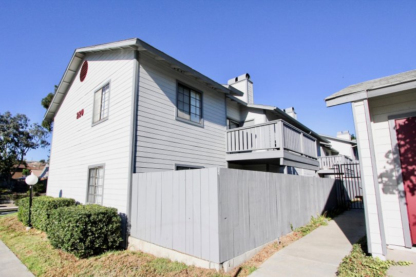 Cozy corner building located in Chula Vista, California with great curb appeal! Building is two story with fenced in yard that includes a balcony.