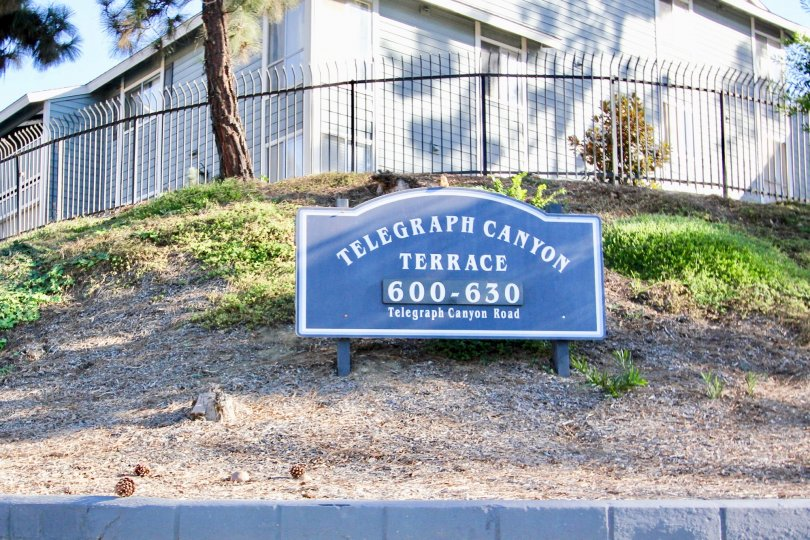 Enjoy the scenic hilltop setting at beautiful Telegraph Canyon Terrace.