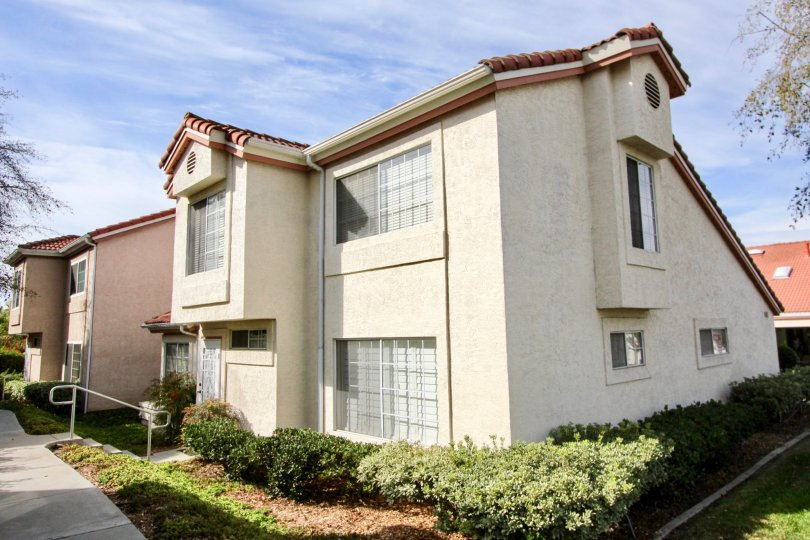 Villa Palmera Two-Story Beige Building Street View Chula Vista California
