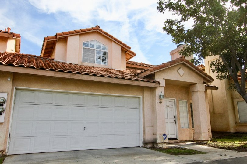 Beautiful home in Villa Rosa, Chula Vista, California. Home includesa double bay garage.