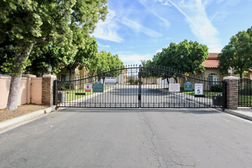 The secure community of Villa Rosa in Chula Vista, California.