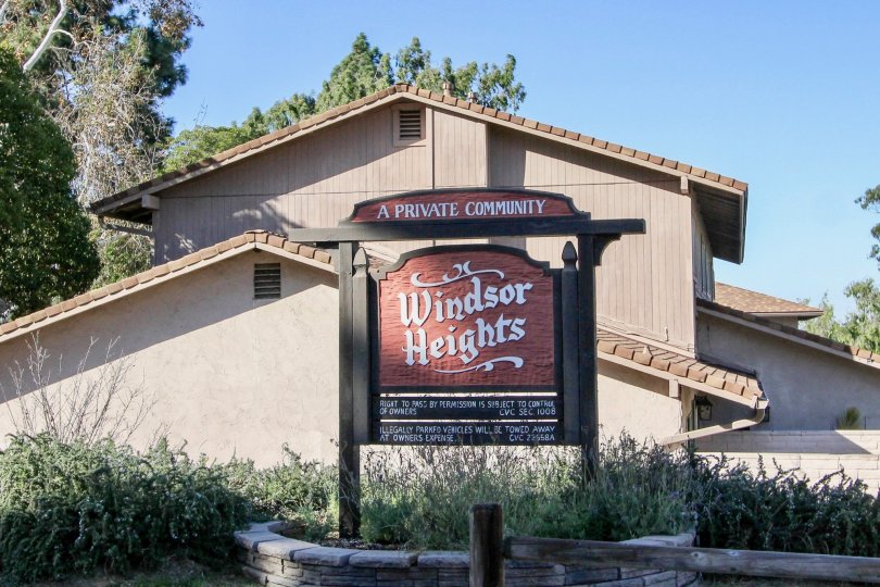 Front view of Windsor Heights community building in Chula Vista, CA