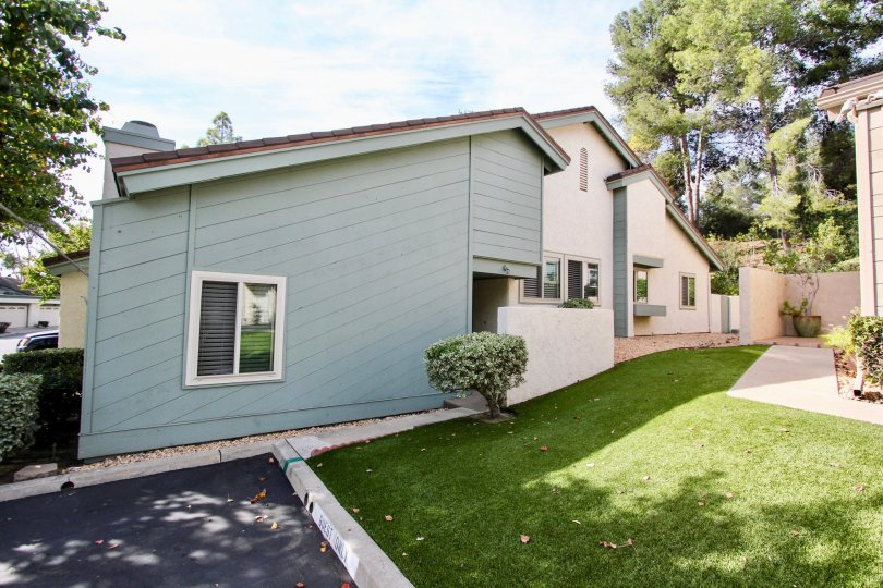 Well Mowed Lawns and beautiful Apartments of Windsor View, Chula Vista, California