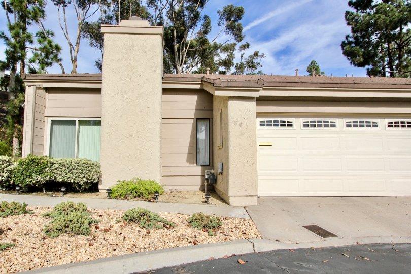 The clean community of Windsor View in Chula Vista, California.