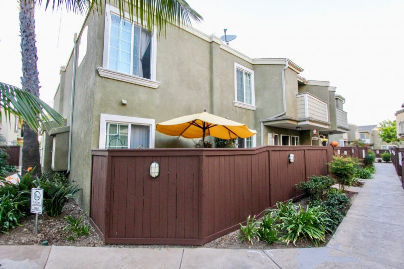 A group of townhomes located in the Balboa Ridge community in Clairemont Mesa, California