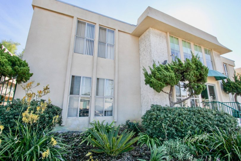 Two story residential building at Cole Manor south in Clairemont Mesa California