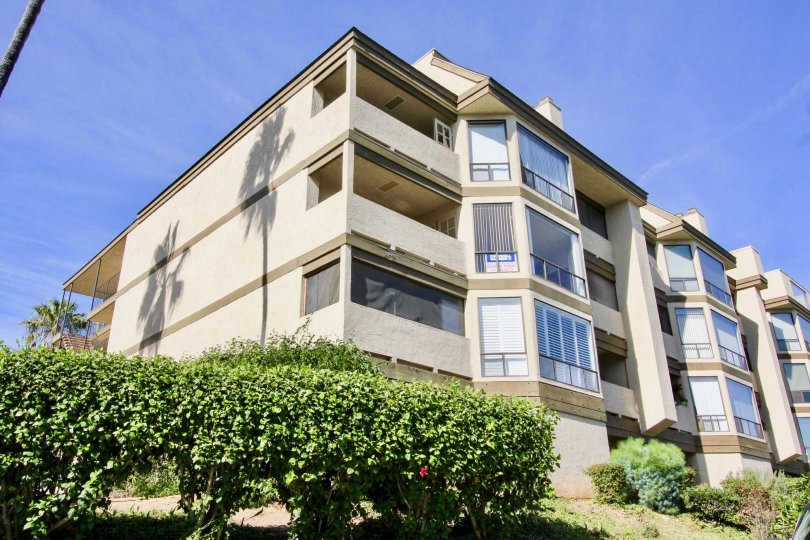 Large residential building at Mission Bay Ridge in Clairemont Mesa California