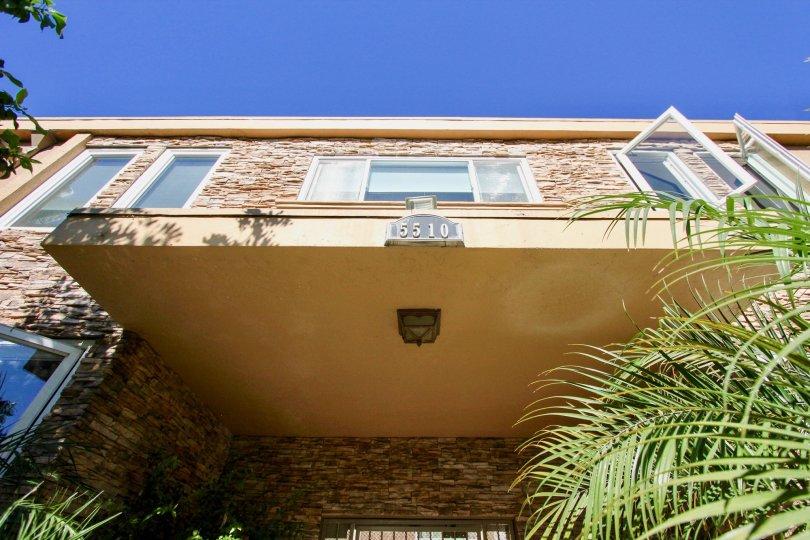 Adelaide Villas, College Area  .California, number,top view