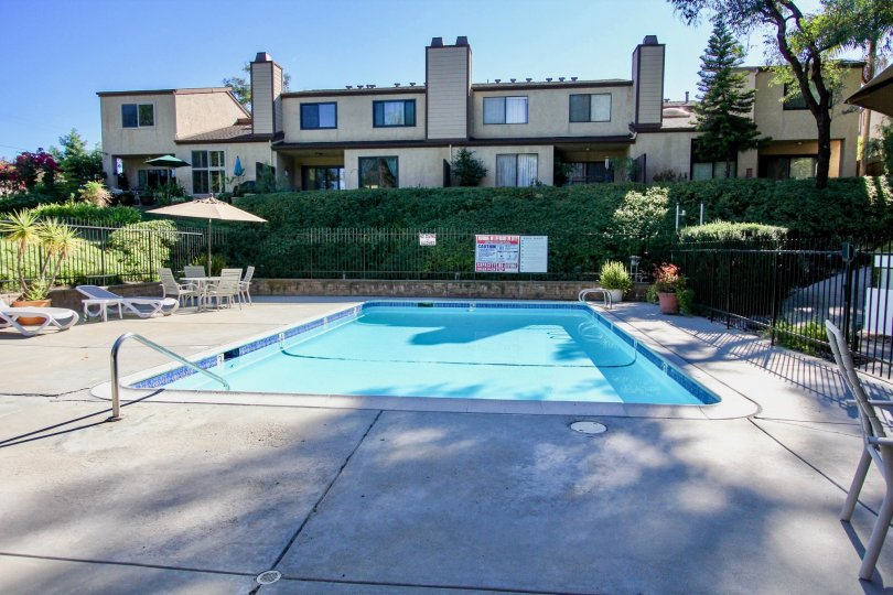 Chateau Marquis  , College Area  ,: California,swimming pool,trees