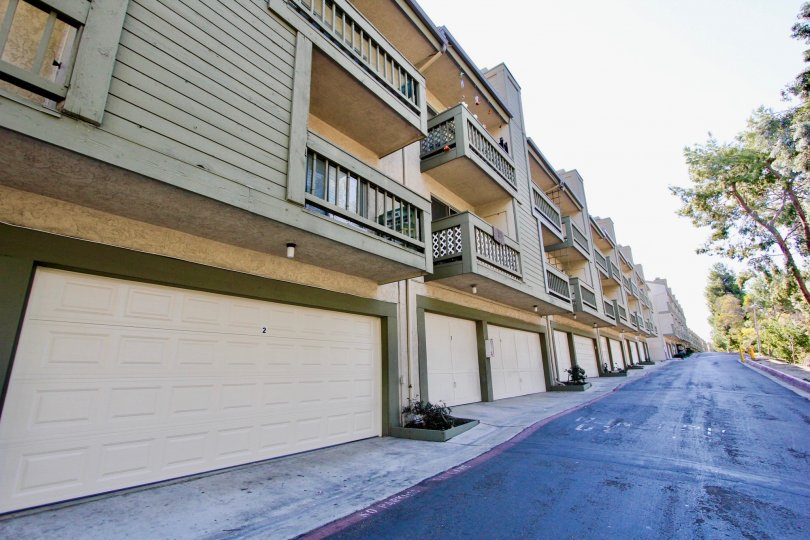 College Park Townhomes community in College Area, California