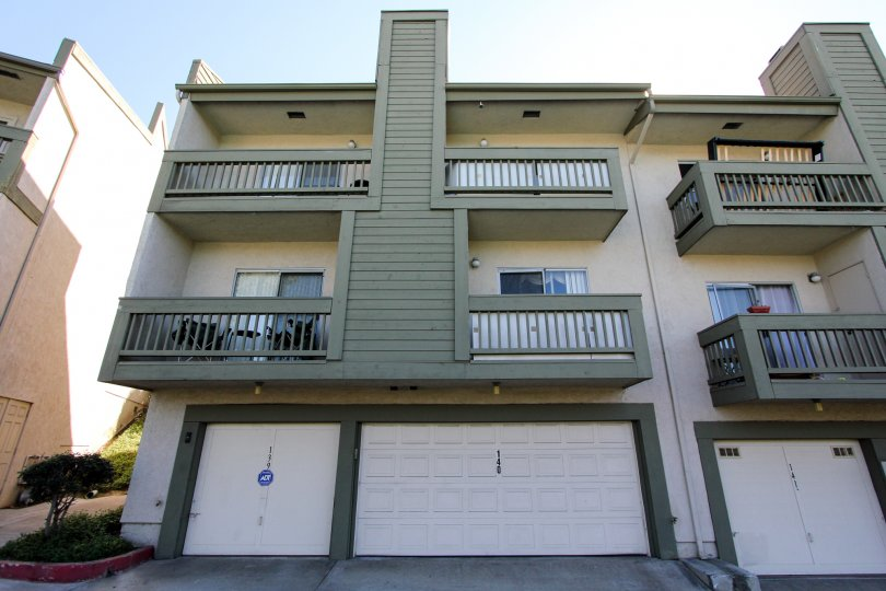 Multilevel townhomes with garage in College Park Townhomes in College Area, California