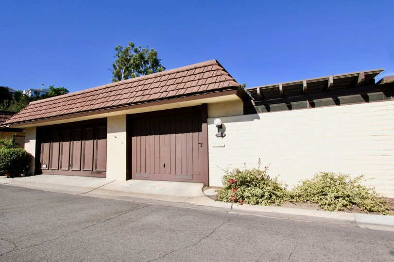 Collwood Park,  College Area,  CA. Garage entrance.