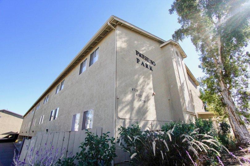 Apartments 4775-4779 in Presidio Park. The housing unit is in College Area, California.