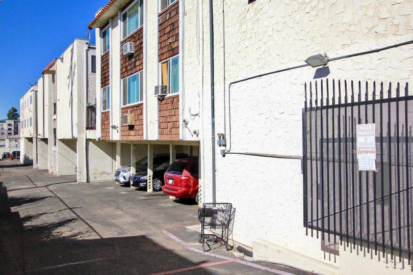 Villa Madrid  ,: College Area ,: California, white  building, sunny