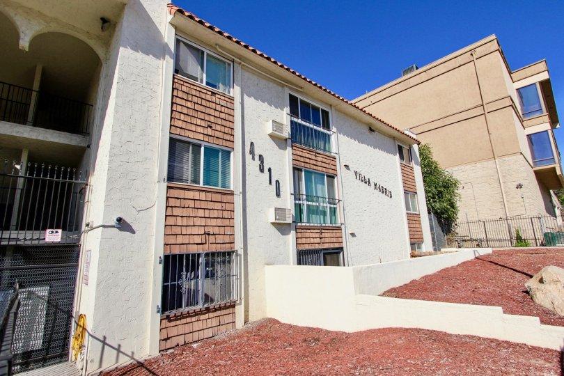 Villa Madrid  , College Area  ,: California,old building,blue sky