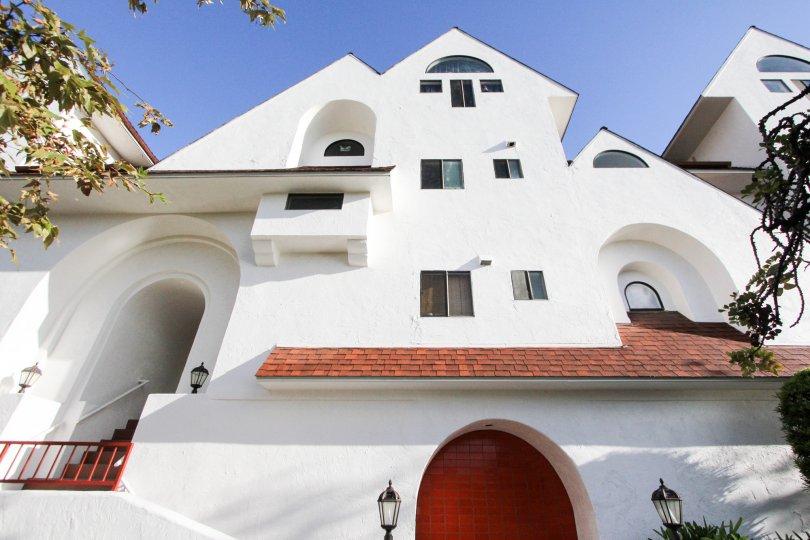 Three story residential unit at Island Village in Coronado California