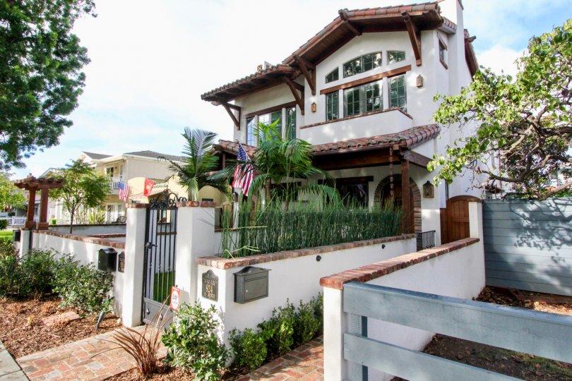 A beautiful american house in Villas, California, Coronado